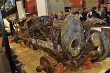 Vad ska man säga om en Bugatti Brescia från 1925 som bärgats efter 73 år i Lago di Maggiore i Schweiz och därefter ropades in för drygt 2½ miljon kronor… Jo, pengarna gick till välgörenhet.
