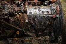 Mirakulöst nog skulle 20% av delarna vara användbara, men någon renovering blir det inte, Bugattin skall ställas ut som den är.
