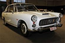 En mycket presentabel Lancia Flaminia 1961 ropades in på auktionen för måttliga 130 000 kronor.