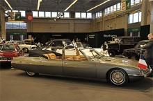 President Pompidou uppdrog 1970 år karossmakaren Chapron att bygga två statskarosser på basis av Citroën SM. De blev färdiga till den engelska drottningens statsbesök 1972 och finns ännu i behåll. Den bil som såldes på Bonham's auktion var en kopia som med tillstånd av Chaprons arvingar konstruerats i Schweiz till en kostnad av € 480 000. Den blev klar 2008 och nu hade ägaren tröttnat.