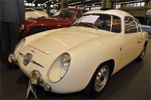 Fiat står det i nosen men kallas hellre Abarth 750 Zagato Berlinetta. Såldes 1959 till USA men kom tillbaka till Italien 1989 för helrenovering. Denna lilla läckerbit baserad på Fiat 600 blev inte såld på auktionen.
