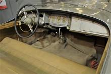 Instrumenttavlan skvallrade om ursprunget - Paul Arzens bil var uppbyggd på en Buick 1926.