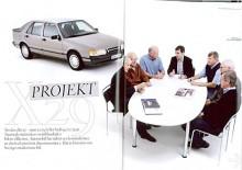 Öppningsuppslaget från Automobils artikel om Saab 9000. Du kan ladda ner artikeln i pdf-form om du väljer länken till höger.