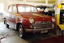 Tidig japansk bil i Finland: Datsun Bluebird 1963.