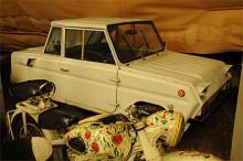 Gissa årsmodellen? 1984 är den här sovjetiska handikappbilen, SZD ifrån.