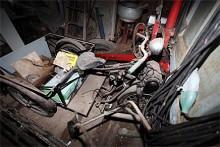 Kan det vara en GM elcykel, en sådan som tillverkades i Stockholmfabriken under kriget?