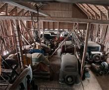 Hemlig bilsamling under klubban