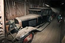Cadillac Town Sedan 1928. En bil som skulle röna stort intresse om den (utan att dammas av!) rullades rakt in på Techno Classica i Essen.