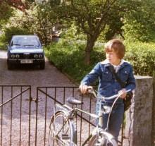 Bara sju år kvar med cykel, sen så ... Staffan var 11 när Alfettan kom in i hans liv.