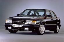 10. 9000 CS 2,3 Turbo 1992. I väntan på att Aeron skulle komma med CS-kaross blev detta värstingen. Med motor och inredning från 91:ans Aero men utan kjolpaket,  en sleeper. 1992 var första året med den förbättrade CS karossen. När såg du en senast?