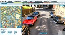 Gatuvy - virtuell bilspaning