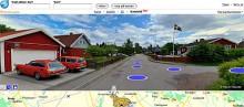 I Uppsala ser vi två orangea skönheter, Volvo 1800ES och Volvo 245 DL. Båda har du kunnat läsa om i Klassiker.