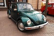 Lusaskens Motordag är öppen för europeiska bilar fram till 1975, men ibland måste man ju göra undantag. Den här Bubblan som ägs av Katrin Kindfur är en Mexikobyggd -96:a.