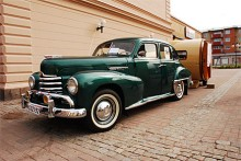 Erling Ekmarks Opel Kapitän 1951 blev en av juryns tre utvalda bilar.