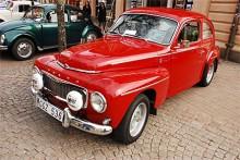 Christer Hellkvist äger en vacker Volvo PV544 Sport 1966.