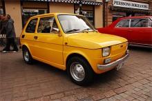 Niklas Högberg äger den här Fiat 126:an från 1976.