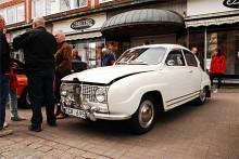 Jan Wirén äger den här Saab 96 Monte Carlon från 1968, blev också utvald av juryn.