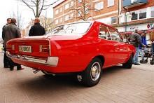Fint renoverad Opel Rekord.
