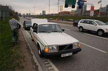 Klassikers Volvo i krock!