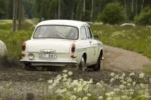 Typisk bakhjulscamber på VW 1500.