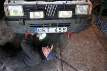Jaha, vad är det här för en konstig ram under motorn?