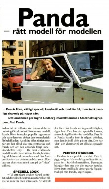Utriv ur tidningen Club Fiat 2-88
