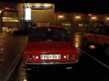 Pers Mazda 1300 besiktigad