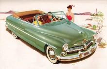 Mercury 1950. Tidig favorit hos Barris och andra custombyggare