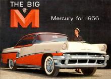 Mercury 1956. The Big M fick stort genomslag i TV-reklamen.