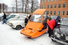 Bond Bug 700 ES – rallyt enda trehjuling! Ägare Göran Troeng, Farsta.