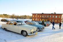 Kaiser, Volvo Amazon, Mini 1000, Saab V4… blandningen var stor och god.