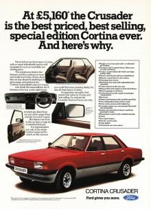 Cortina är engelska för Taunus. Typ.