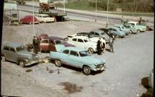 Vår sevärda parkering 1965