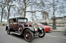 100 Rolls-Royce i London