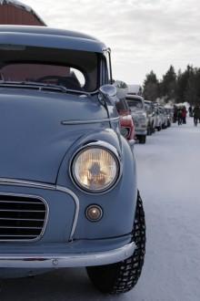 Volvo 165 på kylig Tjälasväng!