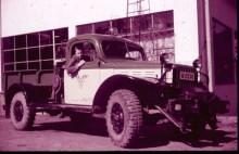 Busstrafiken Stockholm-Södertörns bärgare var en Dodge från tidigt 40-tal.