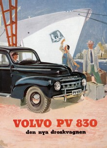I den åttasidiga broschyren över PV 830 understryks alla dess fördelar. Du får den på köpet med nya Klassiker!
