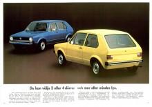 I första broschyren hade snikmodellen mindre bakljus. Släpptes några sådana någonsin ut i verkligheten.