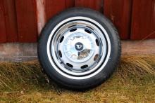 Den nya hjulen blev i alla fall fina.
