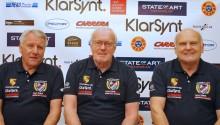 Åke Bryggarn Anderson, Björn Waldegård och Stig Blomqvist.