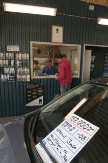 Hur ofta hittar man Blockets billigaste Saab 90 hos en riktig bilhandlare?
