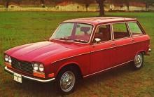 Peugeot 304 såldes även på USA-marknaden, här en USA-anpassad 304 Break från 1971
