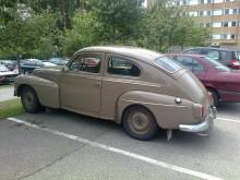 En ägare i 50 år – en riktig tiotaggare i bilspanarvärlden. Dovhjortsbrun PV.