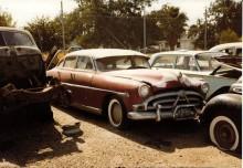 """Hudson Hornet """"limpa"""" 1952"""