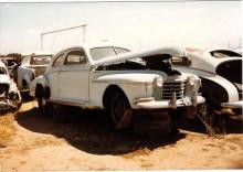Oldsmobile fastback 1942.