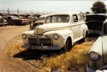 Ford Fordor 1942. Ovanlig modell!