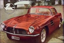 En av de få byggda Z-103 med Touring-kaross 1956.