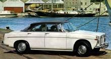 """P5 3-litre, Rover kallade denna för """"coupe"""" trots fyra dörrar."""