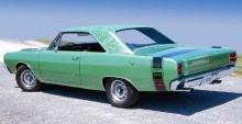 Dodge Dart Swinger med floral top 1969