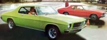 Helt nya egna Holden HQ Monaro GTS tillverkades under ett tag parallellt med HG-serien.